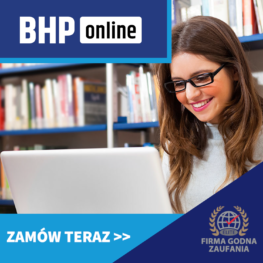 Szkolenie BHP dla pracowników biurowych ONLINE
