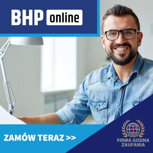 Szkolenie BHP dla pracodawców ONLINE
