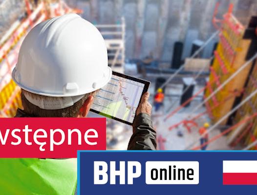 Test BHP dla pracowników robotniczych, budowlanych, serwisantów, kierowców