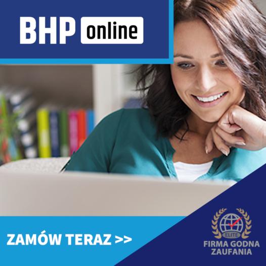 Szkolenie BHP dla służby zdrowia ONLINE