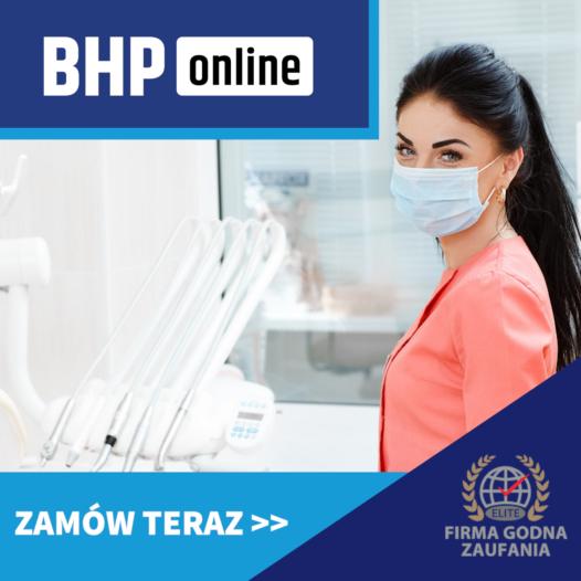 Kurs BHP dla asystentek stomatologów ONLINE