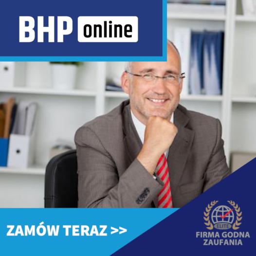 Szkolenie BHP dla dyrektorów szkół ONLINE