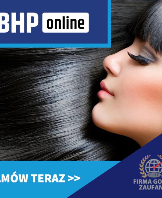 Szkolenie BHP dla fryzjerów i fryzjerek  ONLINE
