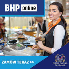 Szkolenie BHP dla sprzedawców i kasjerów ONLINE