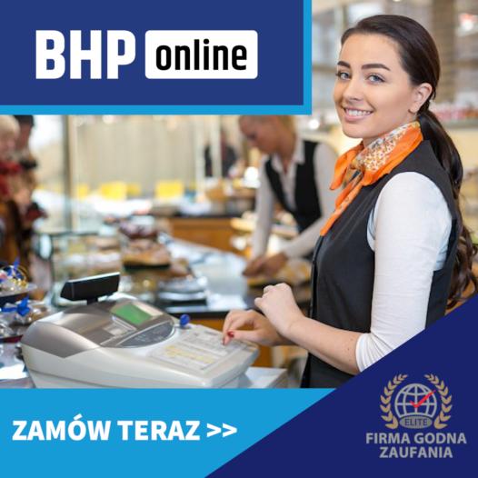 Szkolenie BHP dla sprzedawców i kasjerów