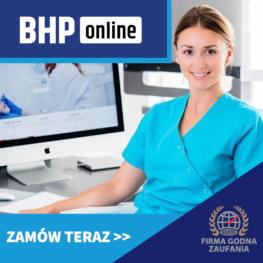 Szkolenie okresowe BHP dla Pracowników służby zdrowa narażonych na działanie pola E-M ONLINE