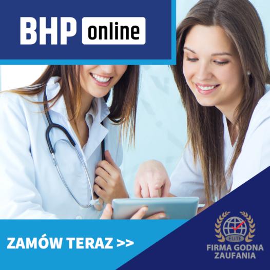 BHP dla Pielęgniarek i personelu medycznego