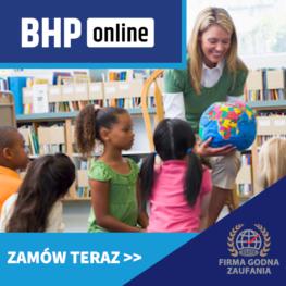 Kurs BHP dla opiekunów w żłobkach i przedszkolach ONLINE