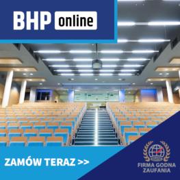 Kurs BHP dla rektorów szkół wyższych ONLINE
