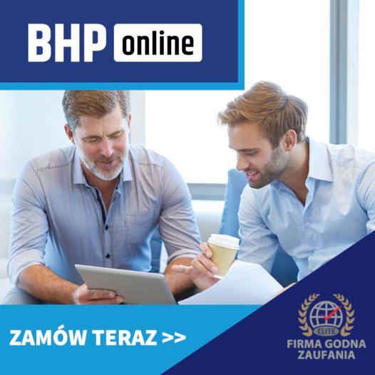 Szkolenie BHP wstępne ONLINE