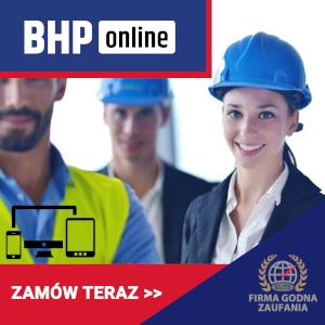 Pracodawca jako służba BHP Kurs ONLINE
