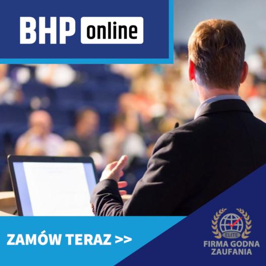Kurs BHP dla wykładowców szkół wyższych ONLINE