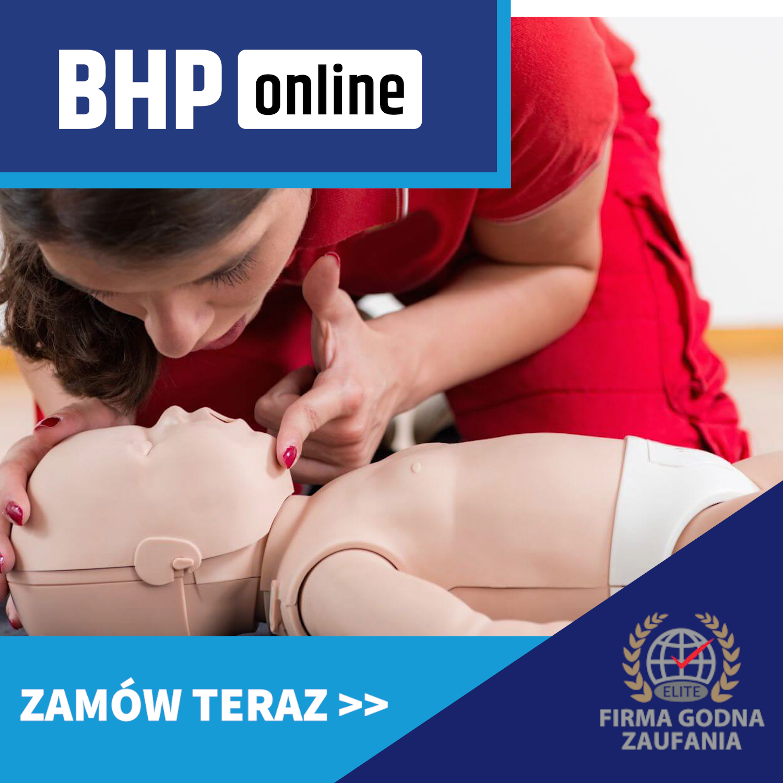 Kurs pierwszej pomocy u dzieci online