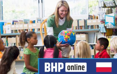Test egzaminacyjny BHP dla opiekunów i nauczycieli w żłobkach i przedszkolach