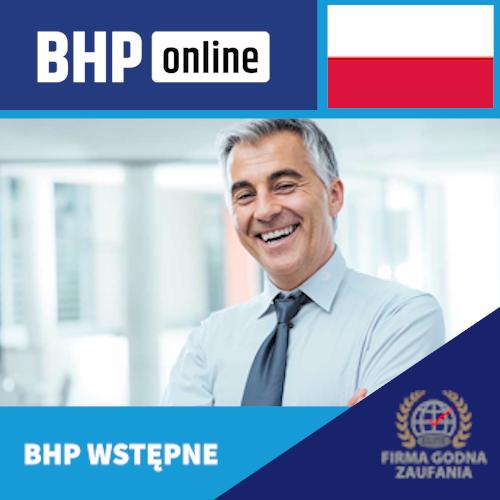Szkolenie wstępne BHP online dla osób kierujących pracownikami