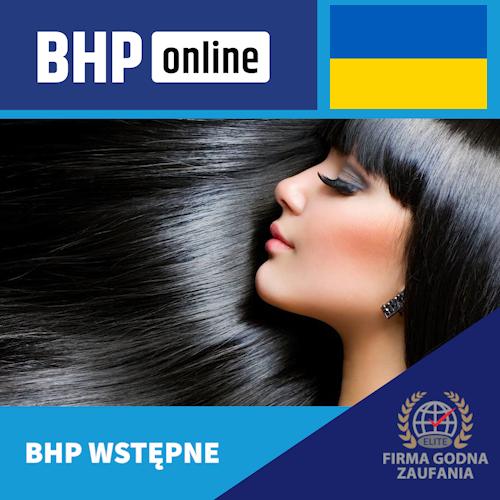 Szkolenie BHP wstępne ONLINE dla pracowników branży usługowej w języku ukraińskim